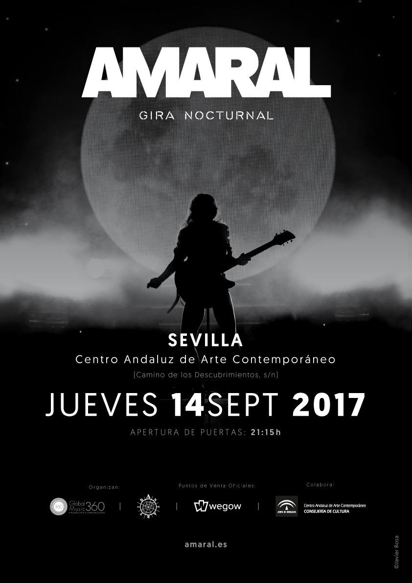 Amaral en Sevilla