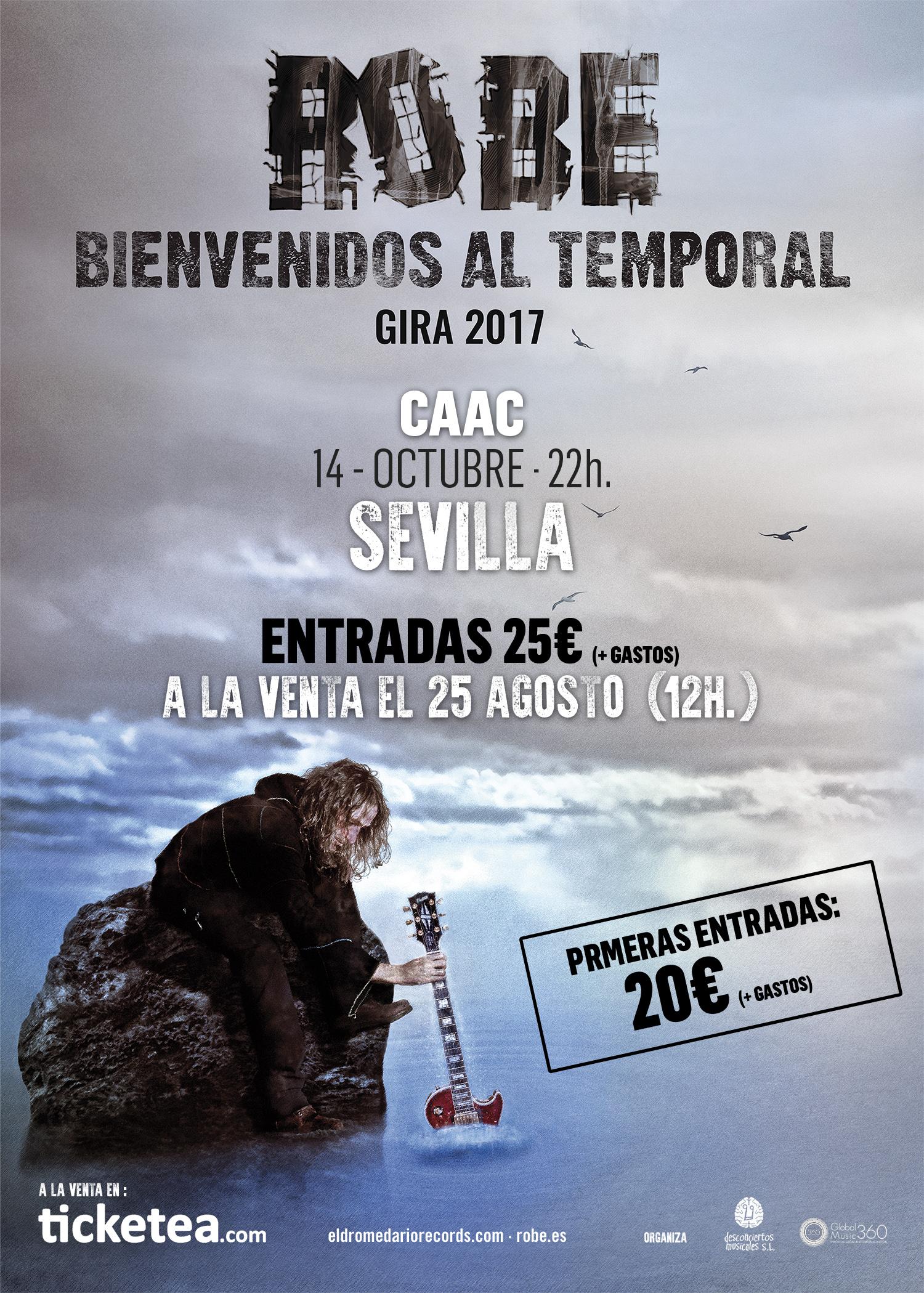 Robe Iniesta en Sevilla