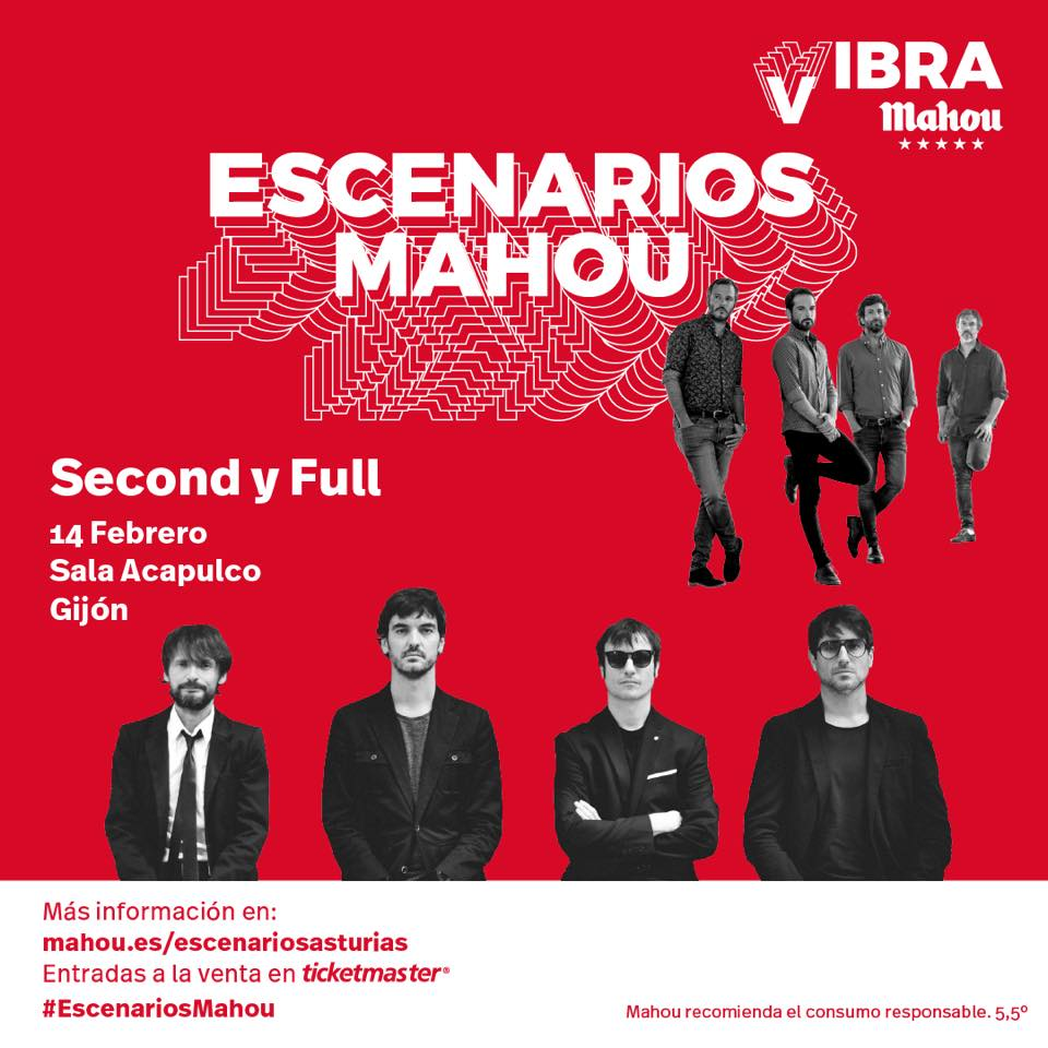 Second + Full en Gijón