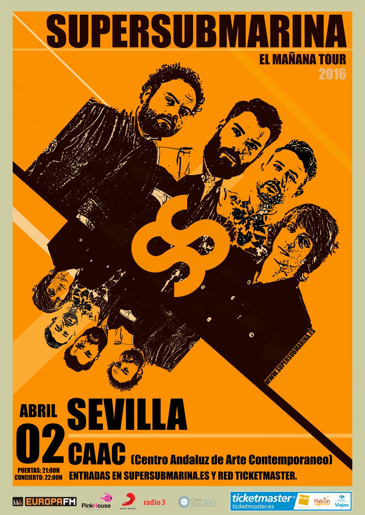 Supersubmarina en Sevilla