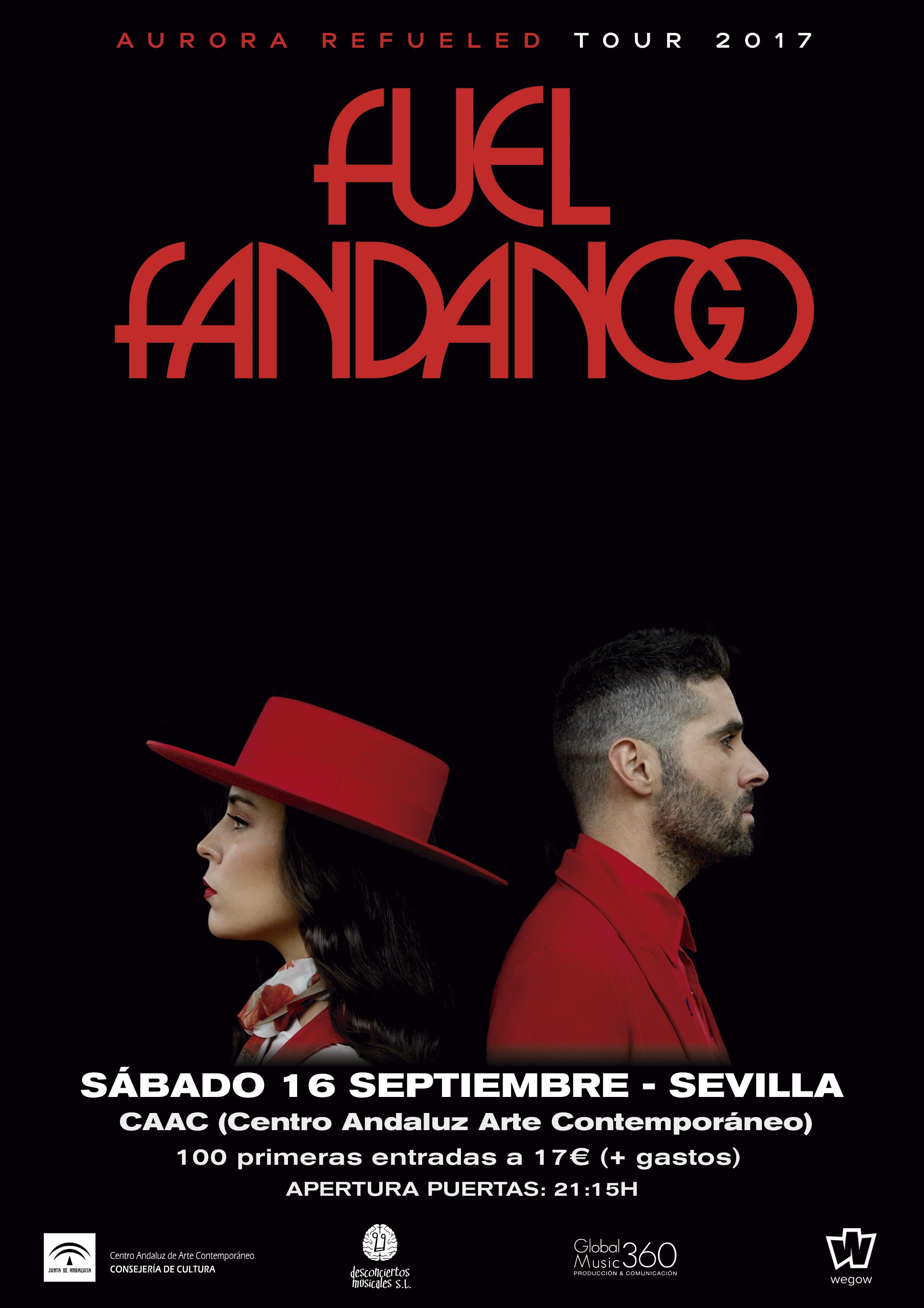 Fuel Fandango en Sevilla