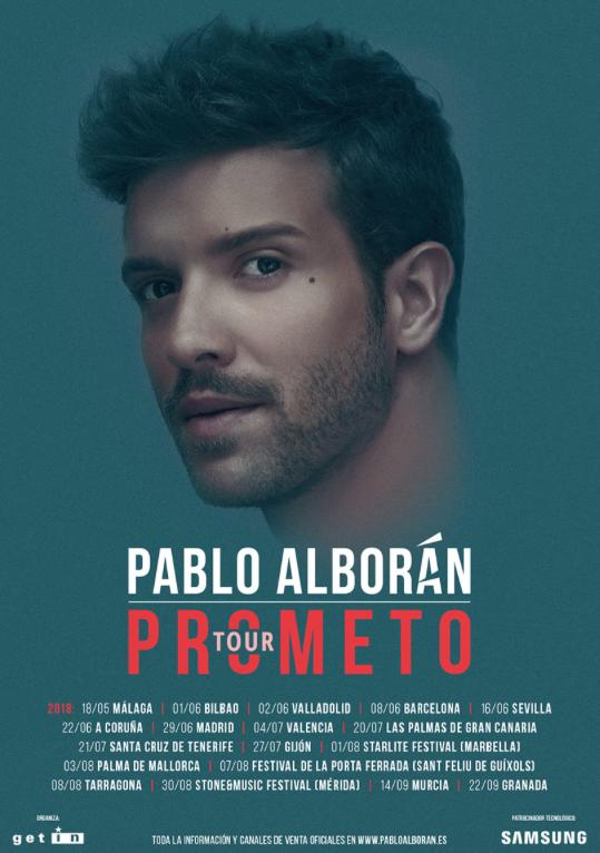 Pablo Alborán en Valencia