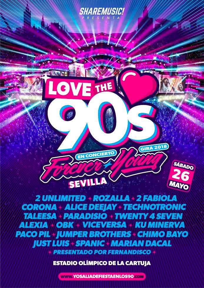 Love The 90s Sevilla