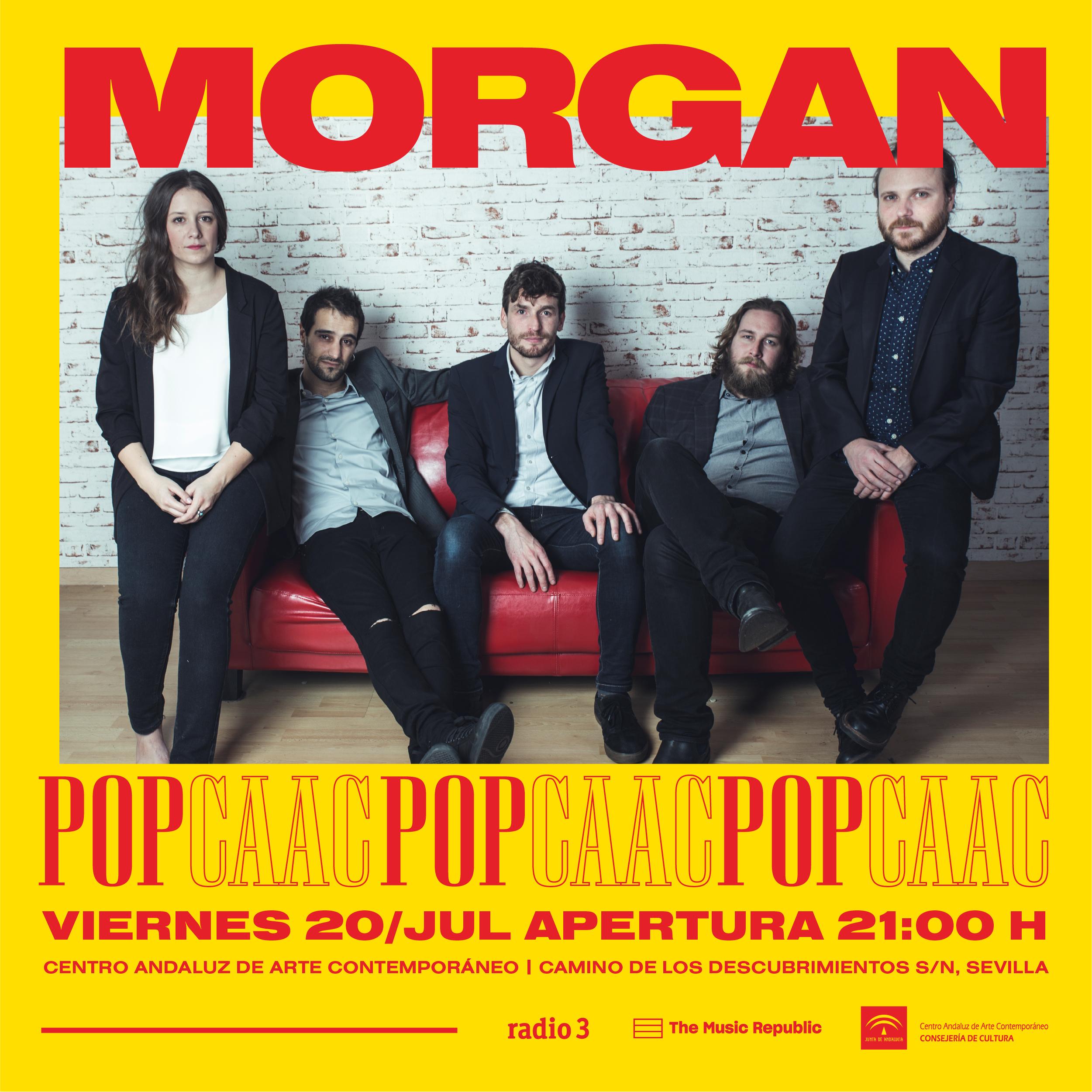 Morgan en el POPCAAC