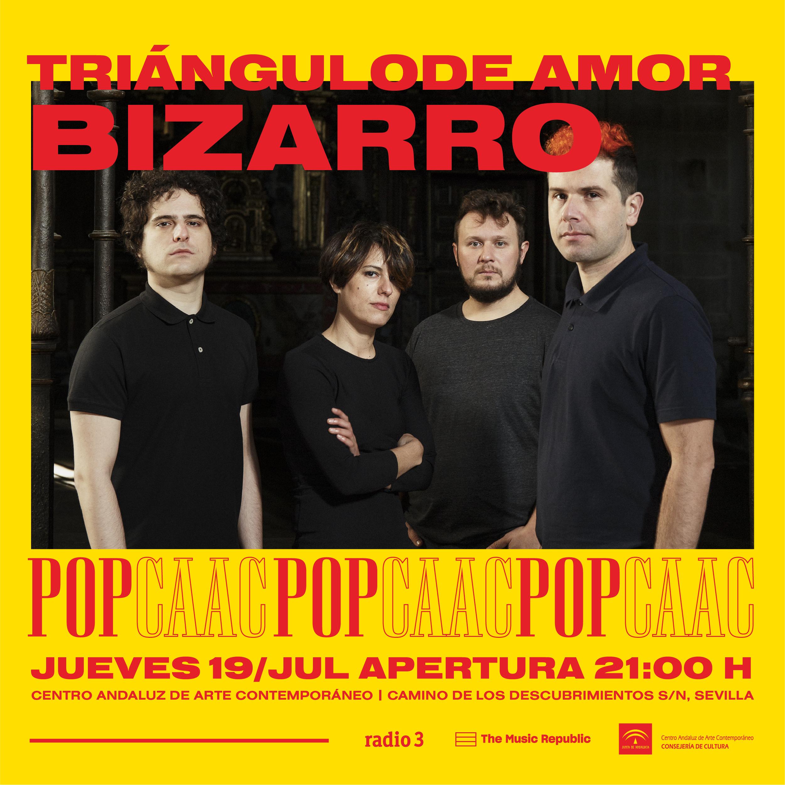 Triángulo de Amor Bizarro en el POPCAAC