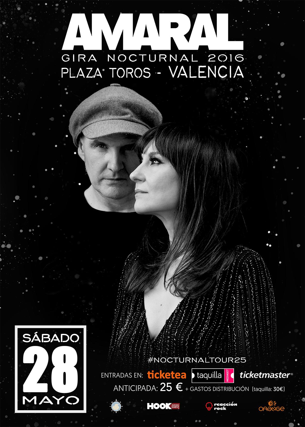 Amaral en Valencia
