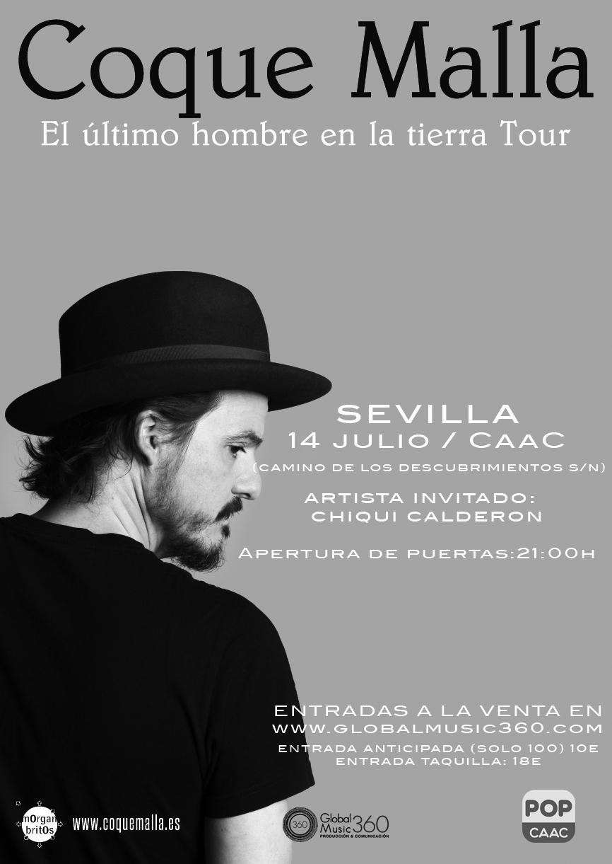 Coque Malla en Sevilla
