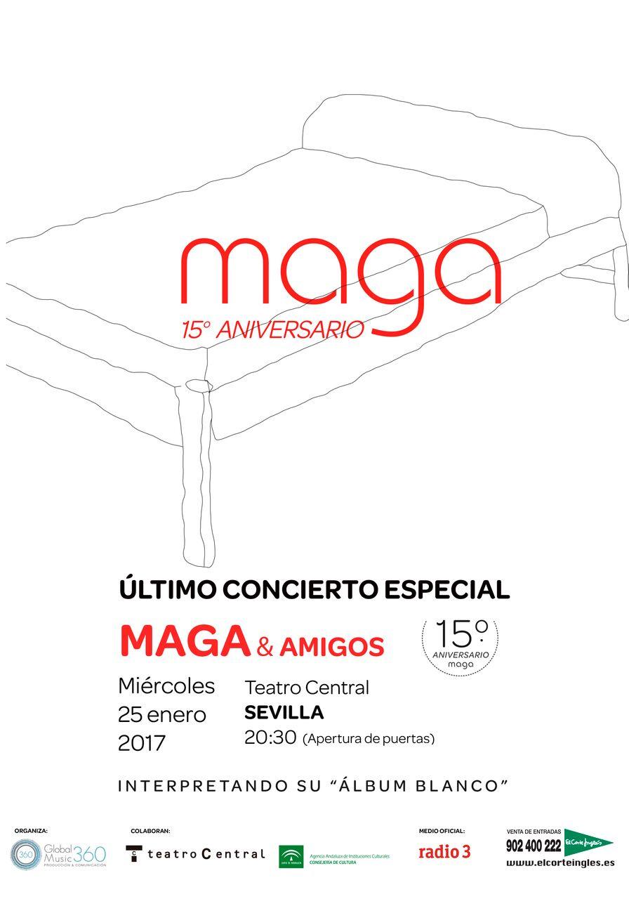 MAGA & AMIGOS en Sevilla