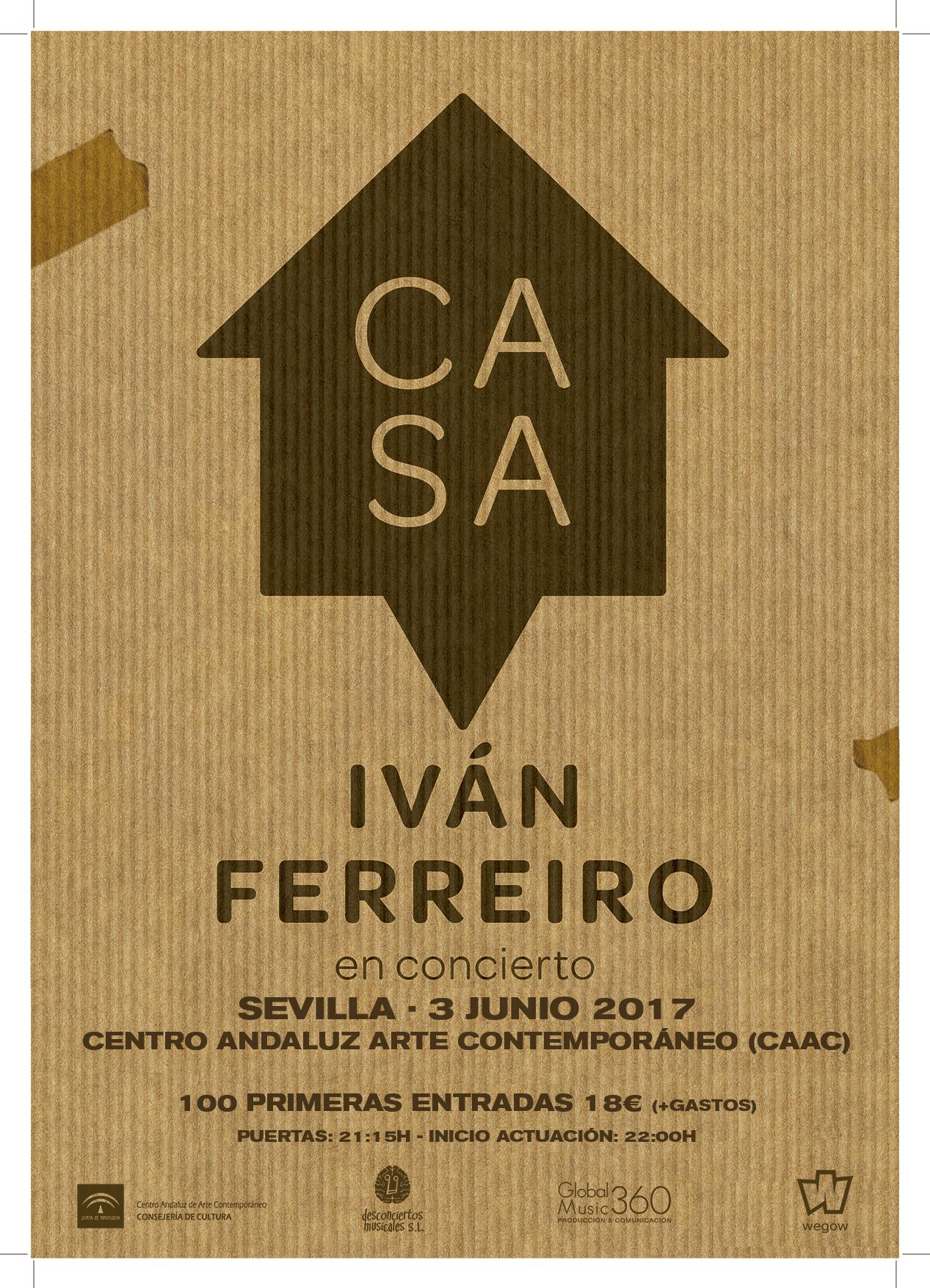 Iván Ferreiro en Sevilla