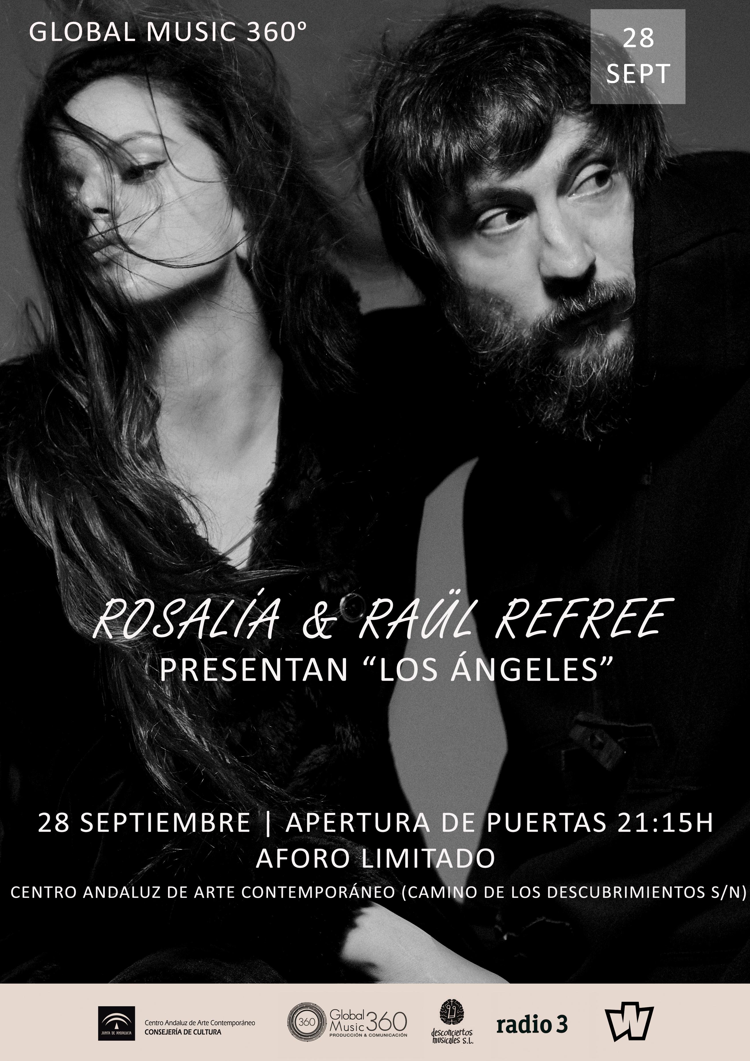 Rosalía y Raül Refree en Sevilla